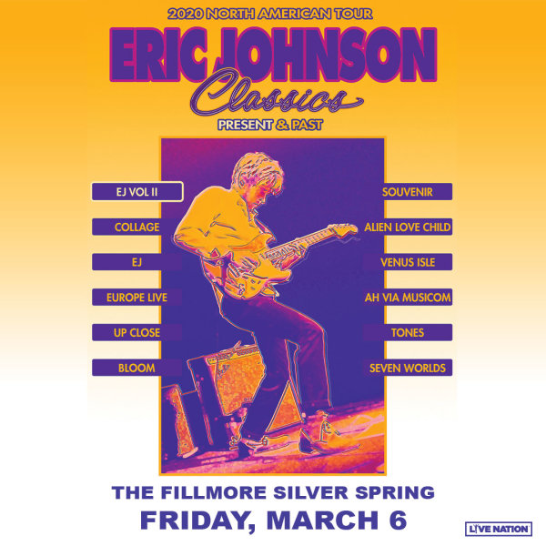 None - Eric Johnson Classics: Present and Past Tickets