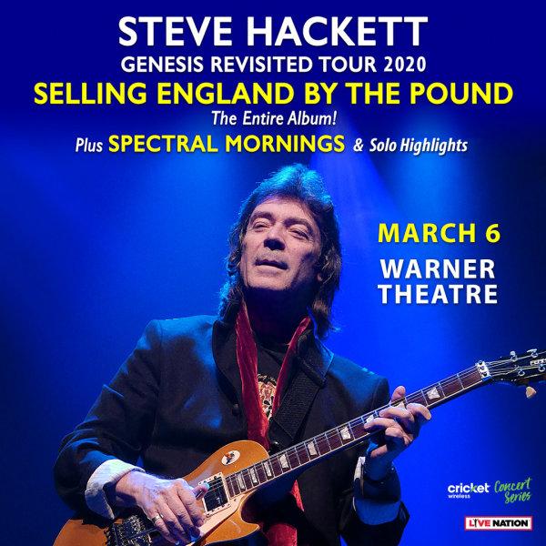 None - Steve Hackett Tickets