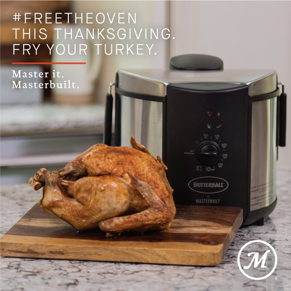 None - The Butterball Electric Fryer by Masterbuilt