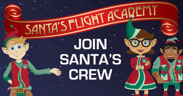 None - Join Santa's Flight Crew at Fair Oaks Mall