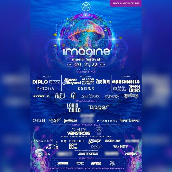 None - Imagine Music Festival 2019