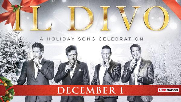 None - Win Tickets to see IL Divo !