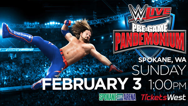None - Win Tickets to WWE at the Spokane Arena!