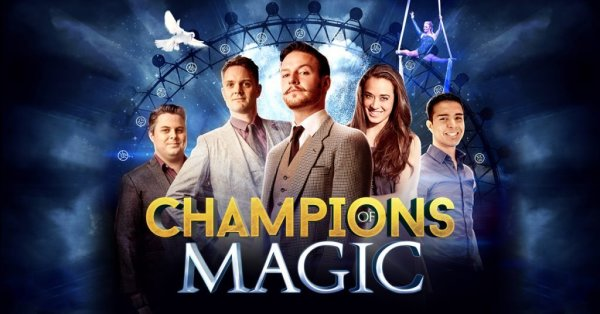 None - Enter to Win a Pair of Tickets to Champions of Magic at Northern Quest!