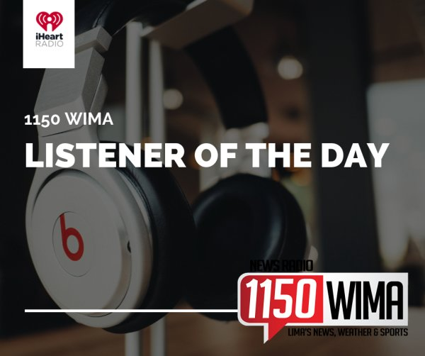 None - 1150 WIMA LISTENER OF THE DAY