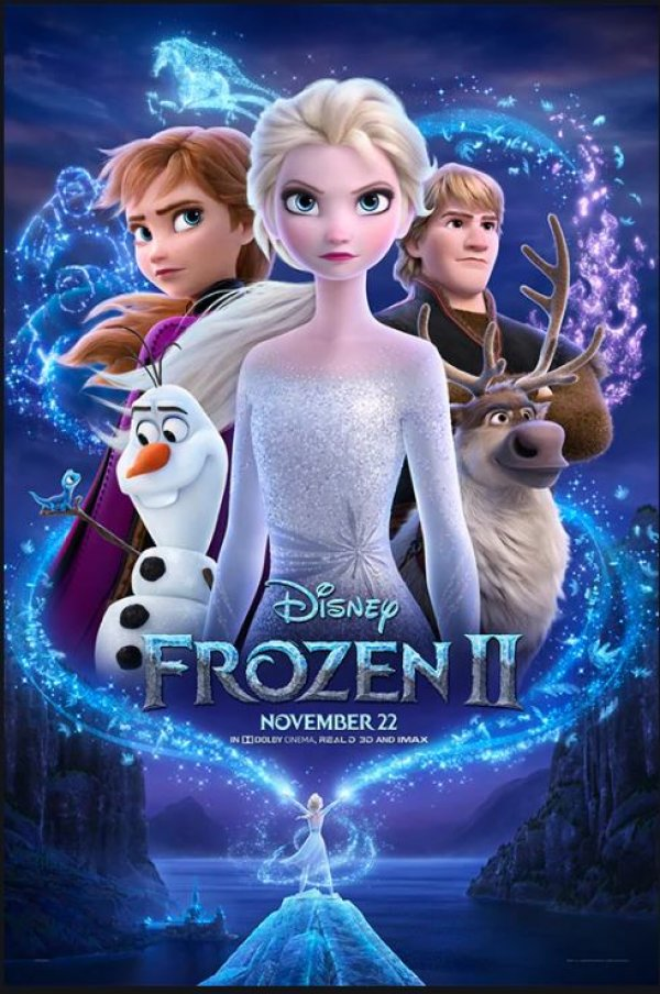 None - Enter NOW to see Frozen II