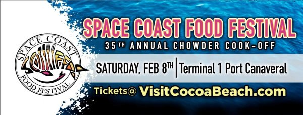 None - Win 2 VIP Tickets to the Space Coast Food Festival