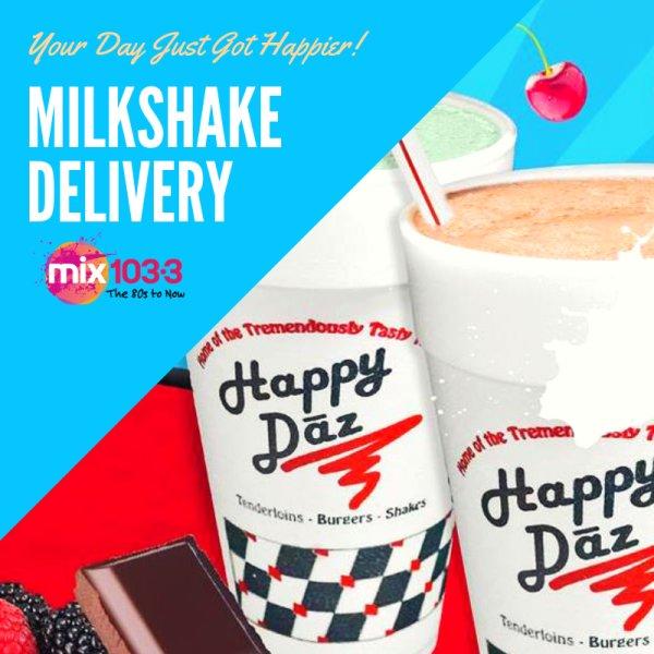 None - Happy Daz Milkshake Giveaway!