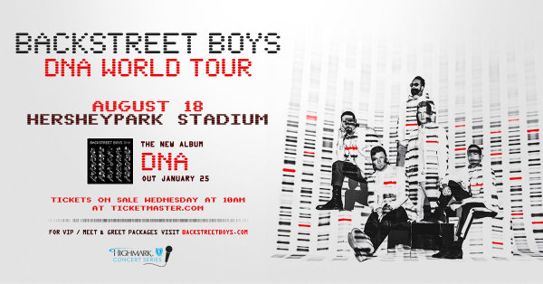 None - Backstreet Boys Tickets