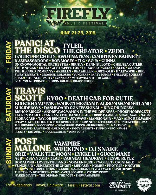 None - Firefly Music Festival