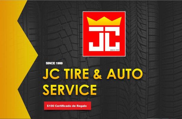 None -   $100 Certificado de Regalo para JC TIRE AND AUTO con El Relajo con Franchy y Gaby.