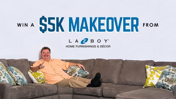 None -   You Could Win A $5,000 La-Z-Boy Design & Recline Room Makeover