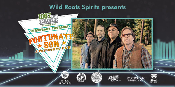 None -  Throwback Thursday with Fortunate Son, Tribute to CCR - 2/28 @ iHeartRadio Theater Portland