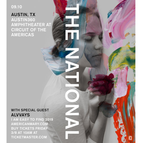 None - Win tickets to see The National!