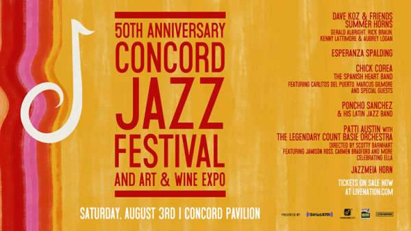 None - Enter For A Chance To Win Tickets To Concord Jazz Festival!
