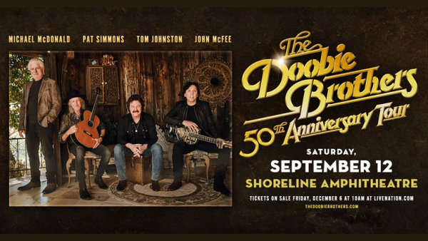 None - Win A Pair Of Tickets To The Doobie Brothers!