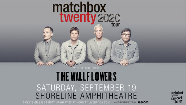 None - Enter For The Chance To Win Tickets To See Matchbox Twenty With The Wallflowers!
