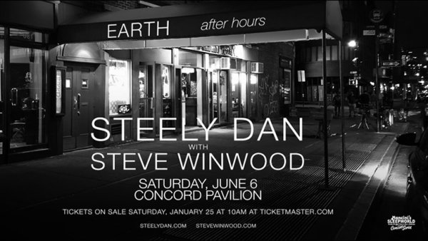 None - Win A Pair Of Tickets To Steely Dan With Steve Winwood!