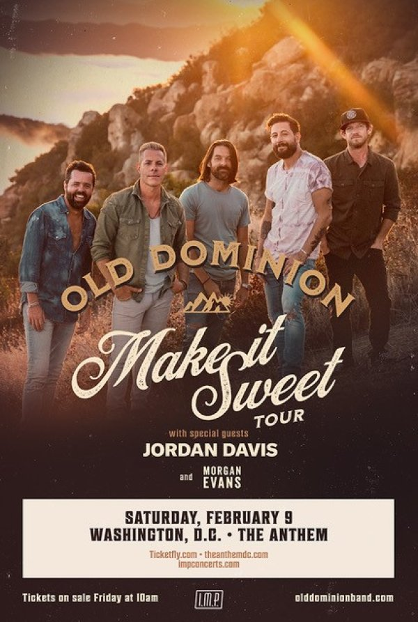 None - Enter to Win Old Dominion Tickets!