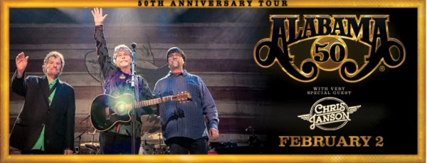 None - Enter to Win Tickets to see Alabama!