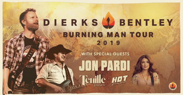 None - Enter to Win Tickets to See Dierks Bentley!