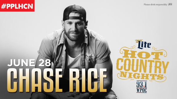 None - Win Hot Country Nights: Chase Rice Tickets!