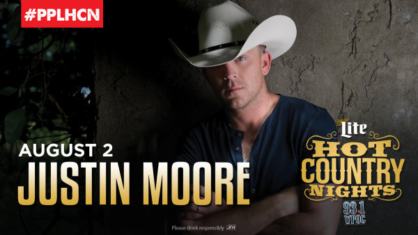 None - Win Hot Country Nights: Justin Moore Tickets!