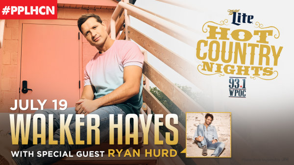 None - Win Hot Country Nights: Walker Hayes Tickets!