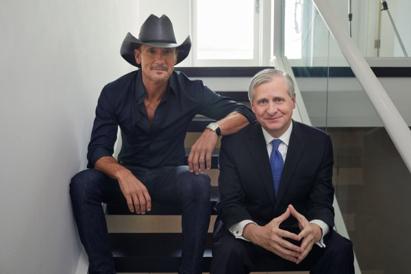 None - Win Tim McGraw and Jon Meacham: Songs of America Book Tour Tickets!