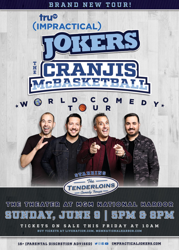 None - Win Tickets to see the Impractical Jokers!