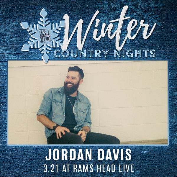 None - Win Winter Country Nights: Jordan Davis Tickets!