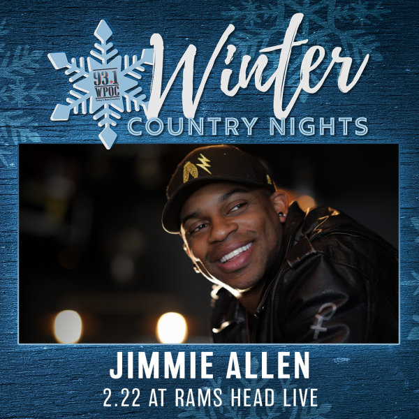 None - Win Winter Country Nights: Jimmie Allen Tickets!