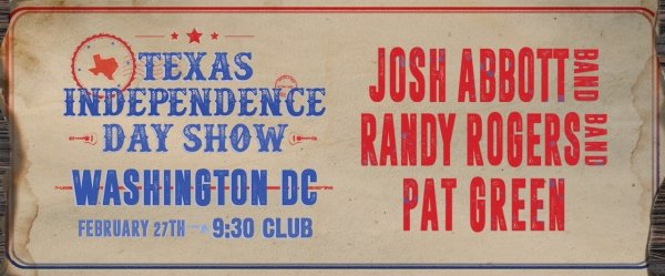 None - Enter to Win Josh Abbott Band, Randy Rogers Band, Pat Green Tickets!
