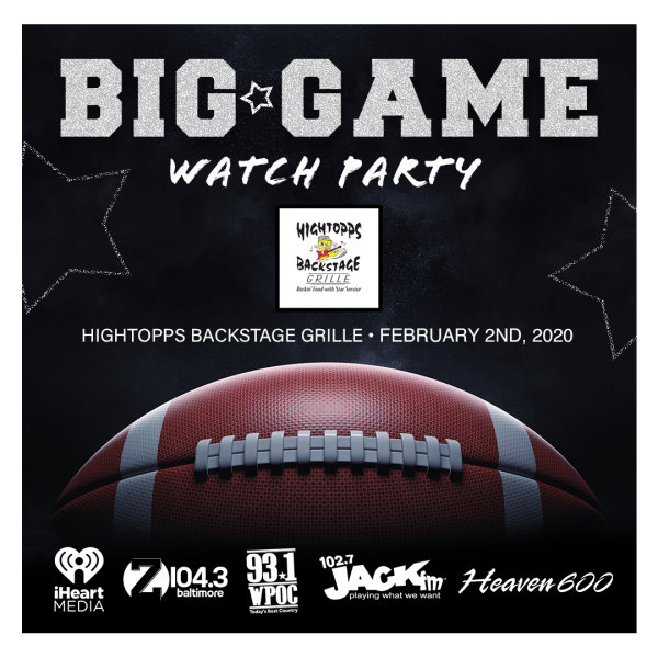 None - Enter to Win Big Game Watch Party Tickets!