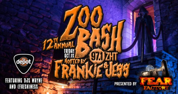 None - Win Tickets to 97.1 ZHT's 12th Annual Zoo Bash with Frankie & Jess!