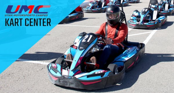 None - Win Karting Passes to Utah Motorsports Campus!