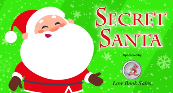 None - Secret Santa 2019 Presented by Low Book Sales!