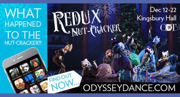 None - Win Tickets to See The ReduxNUT – Cracker at Kingsbury Hall!