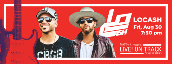 None - Win LOCASH Live! ON TRACK! Tickets