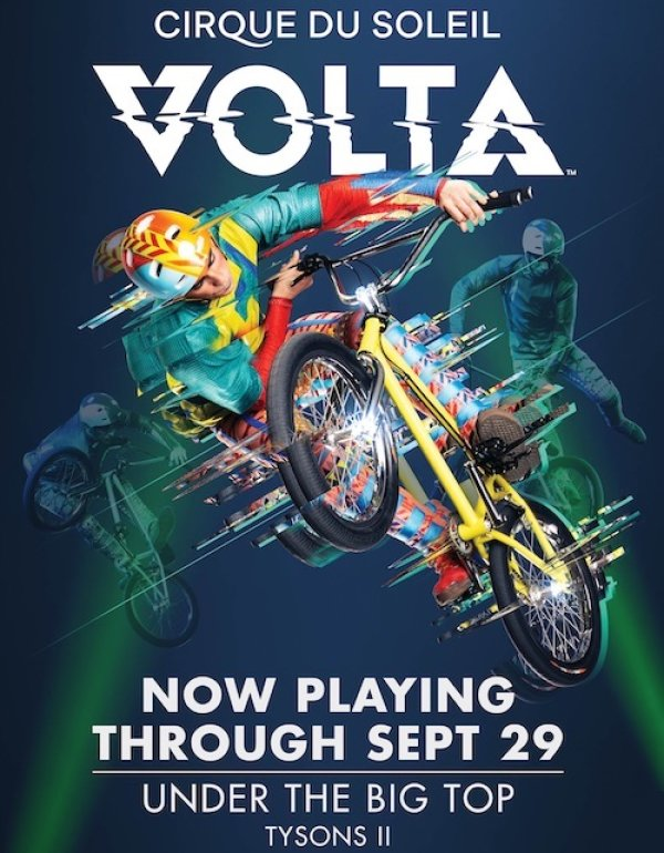None - Win Cirque de Soliel Volta tickets!
