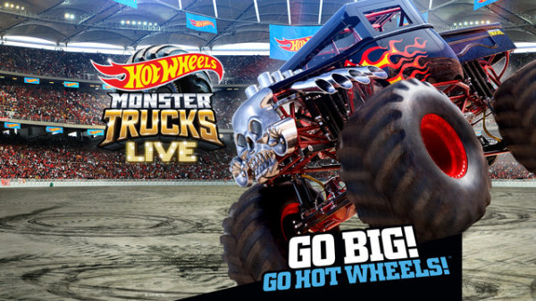 None - Win tickets to Hot Wheels Monster Trucks Live!