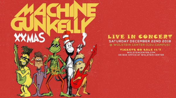 None - Win tickets to see Machine Gun Kelly's XXMAS Show