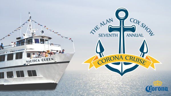 None - Win your way aboard The Alan Cox Show Corona Cruise