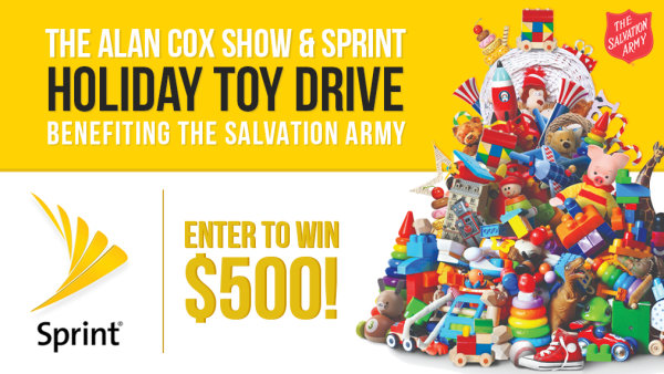 None - The Alan Cox Show Sprint Holiday Toy Drive