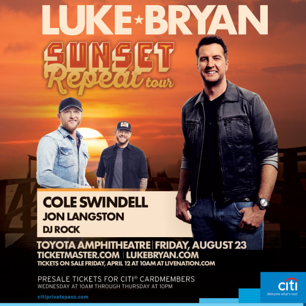 Win Luke Bryan Tickets!