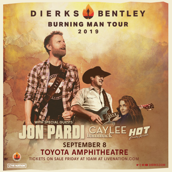 None - Win Dierks Bentley Tickets!