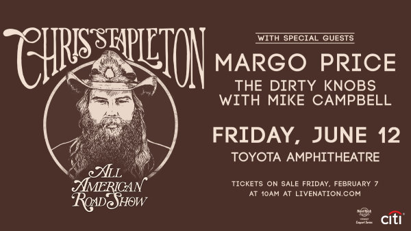 image for Win Chris Stapleton Tickets!