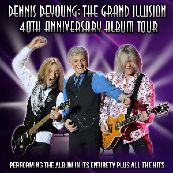 """Win tickets to see Dennis DeYoung celebrate the 40th anniversary of """"The Grand Illusion!"""