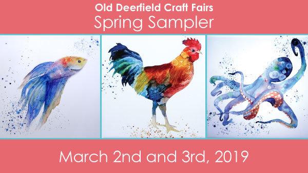 None -   Old Deerfield Craft Fairs Spring Sampler