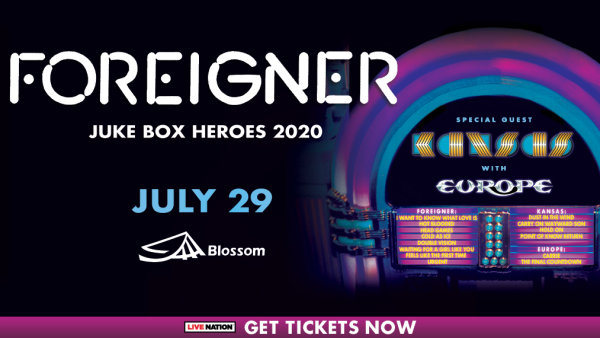None - It's a Web Winning Weekend - Win tickets to see Foreigner
